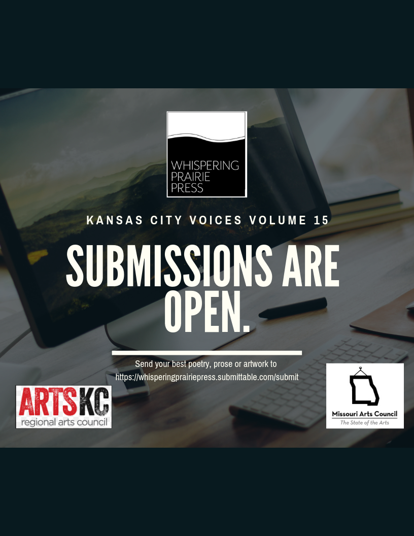 Submissions are open for Kansas City Voices Vol  15